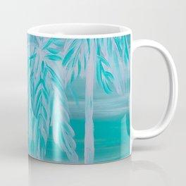 Teal Palm Trees Coffee Mug