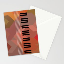 pos string and key Stationery Cards