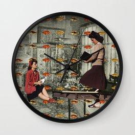 HOW MANY FISH Wall Clock
