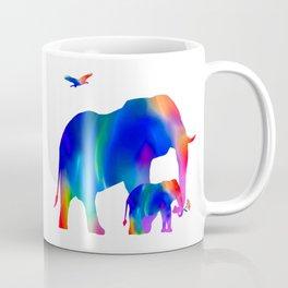 Elephant mom and baby Coffee Mug