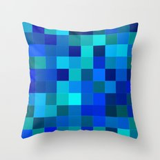 Rando Color 2 Throw Pillow