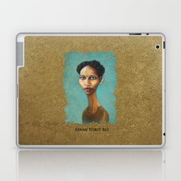 Portrait of Ayaan Hirsi Ali Laptop & iPad Skin