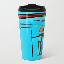 Baywatch Tower Travel Mug