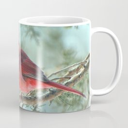 Dreamy Morning (Northern Cardinal) Coffee Mug