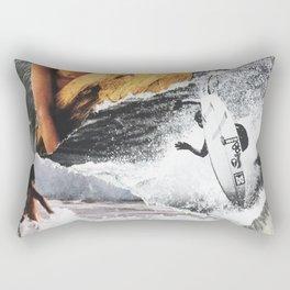 SURF HEAD Rectangular Pillow