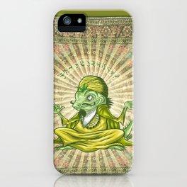 The Iguana Guru iPhone Case