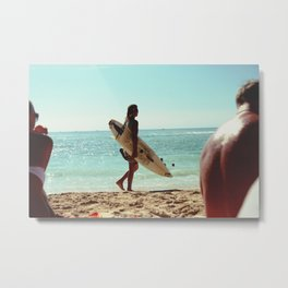 Surfer Dude Metal Print