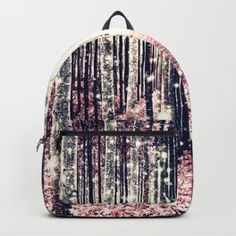 Magical Forest Millennial Pink Pewter Elegance Backpack