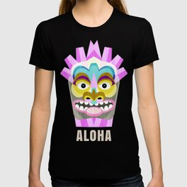 Hawaiian Tiki Aloha T-shirt