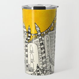 Big Sun Small City Travel Mug