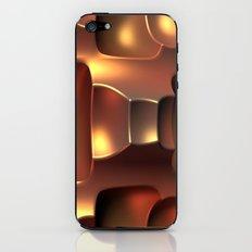 Copper Toned iPhone & iPod Skin