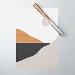 Minimal Art Landscape Wrapping Paper