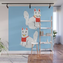 Kitsune - Japanese Messenger Fox Wall Mural