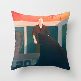 Feed the Ego Throw Pillow