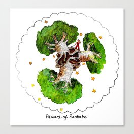 The Little Prince: Beware of Baobabs Canvas Print