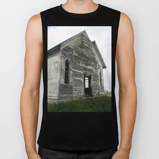 Abandoned Church Biker Tank