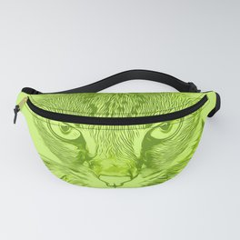 savannah cat portrait vagg Fanny Pack