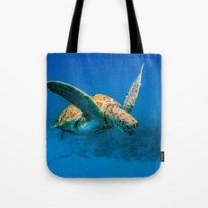 Bajan Turtle 2 Tote Bag