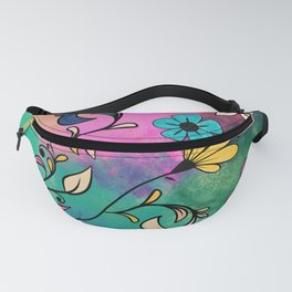 Magical Flowers No2 Fanny Pack