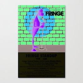 Hollywood Fringe Festival Comedy 2012 Canvas Print