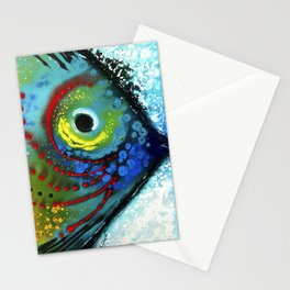 Tropical Fish - Colorful Beach Art By Sharon Cummings Stationery Cards