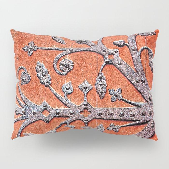 Gothic Red Door Pillow Sham