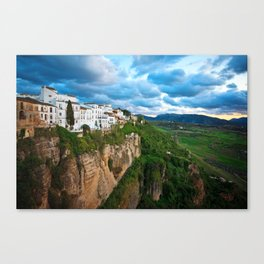 The Town of Ronda in Spain Canvas Print