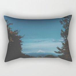 Mount Hood II Rectangular Pillow