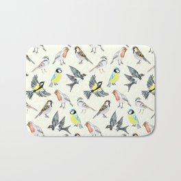 Illustrated Birds Bath Mat