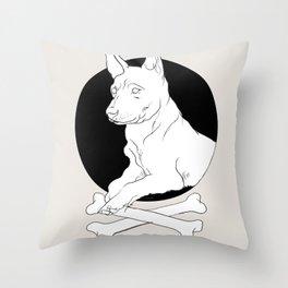 dog it Throw Pillow