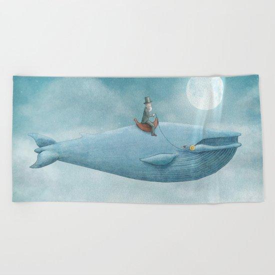 Whale Rider Beach Towel