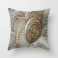 cookies Throw Pillows featuring Cookies by Vitta