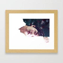 V - Singularity Framed Art Print