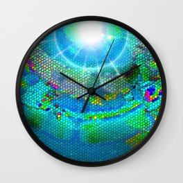 Mind Mosaic Wall Clock