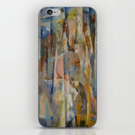 Wild Horses Abstract iPhone Skin