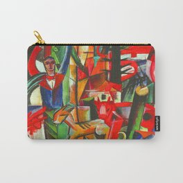 Heinrich Campendonk Bucolic Landscape Carry-All Pouch