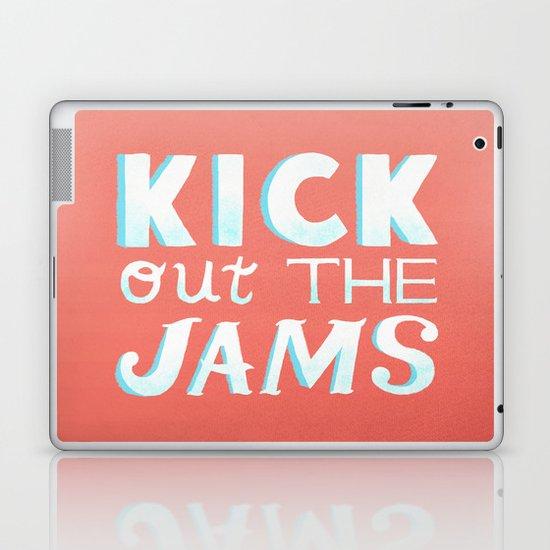 Kick Out The Jams Laptop & iPad Skin
