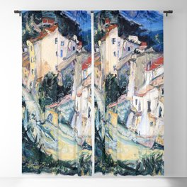 12,000pixel-500dpi - Chaim Soutine - View of Cagnes - Digital Remastered Edition Blackout Curtain