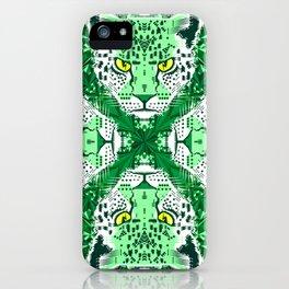 Emerald Leopard  iPhone Case