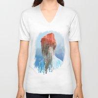 steve zissou V-neck T-shirts featuring Steve Zissou by Swancowski