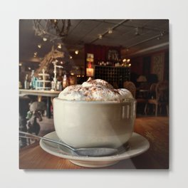 Coffee Amongst Collections Metal Print