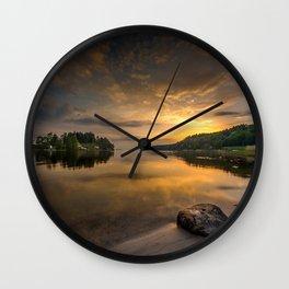 Serenity by dawn Wall Clock