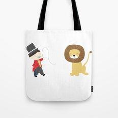 Lion Tamer Tote Bag