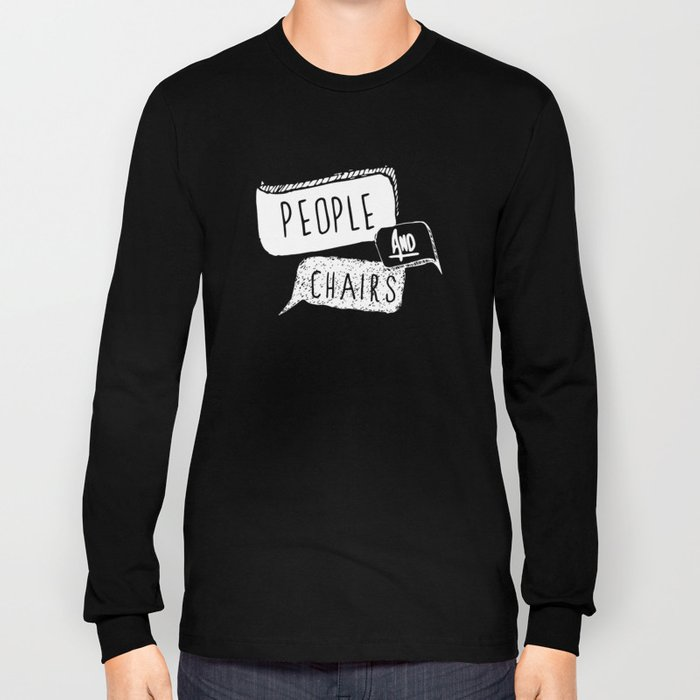 People and Chairs - Alternate Logo Long Sleeve T-shirt