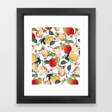 Fruity Summer #society6 #decor #buyart Framed Art Print