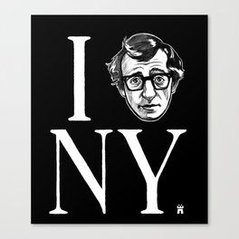 I (Woody) NY Canvas Print
