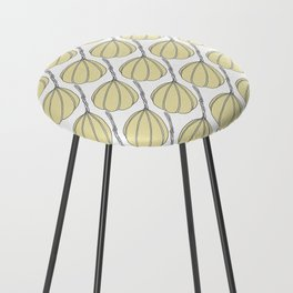 Provolone (cheese pattern) Counter Stool