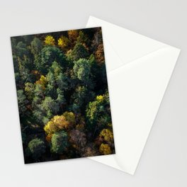 Forest Landscape - Aerial Photography Stationery Cards