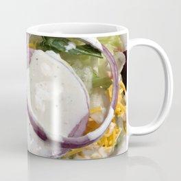 Salad with ranch Coffee Mug