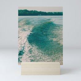 Summer Ocean Waves Mini Art Print